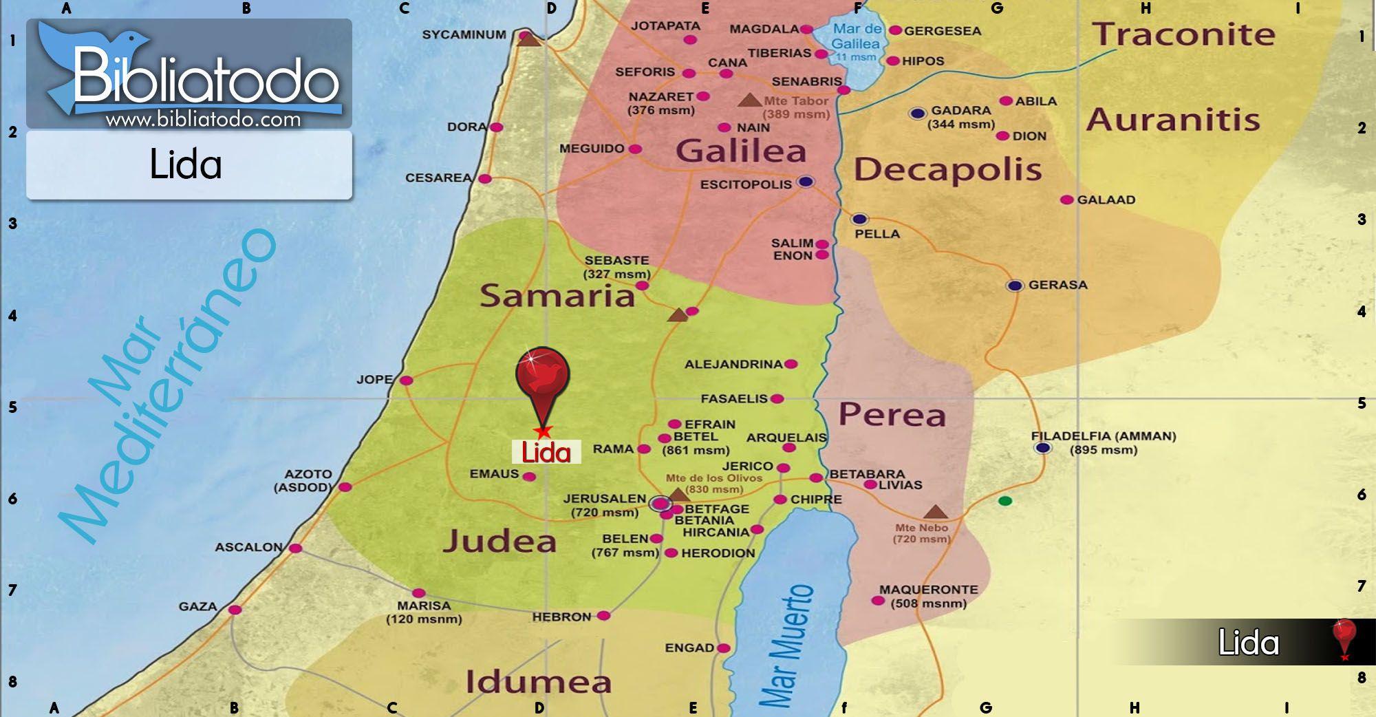 Lida Y Jope Mapa Google Search Map
