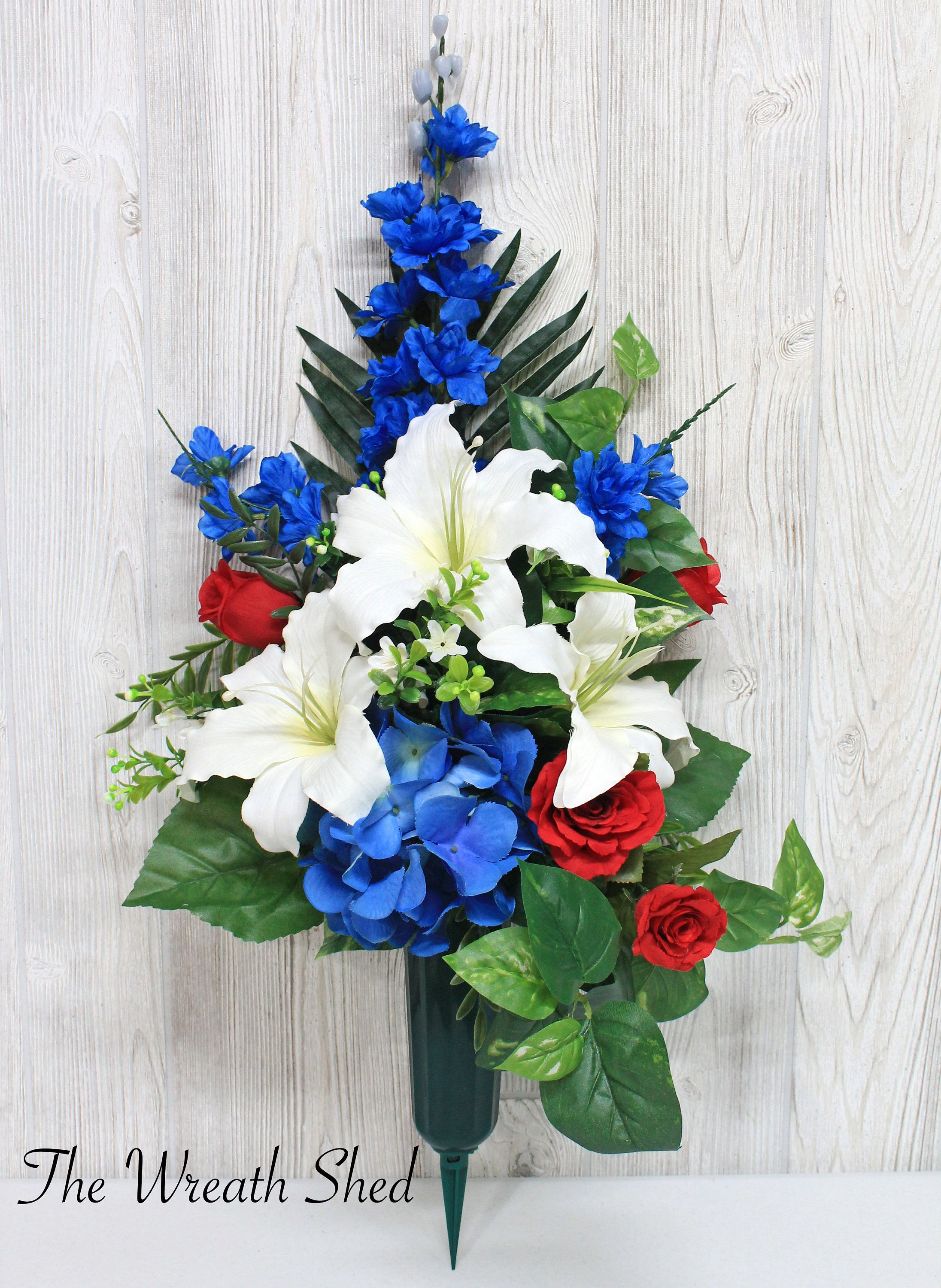 Memorial Day Cemetery Flowers With