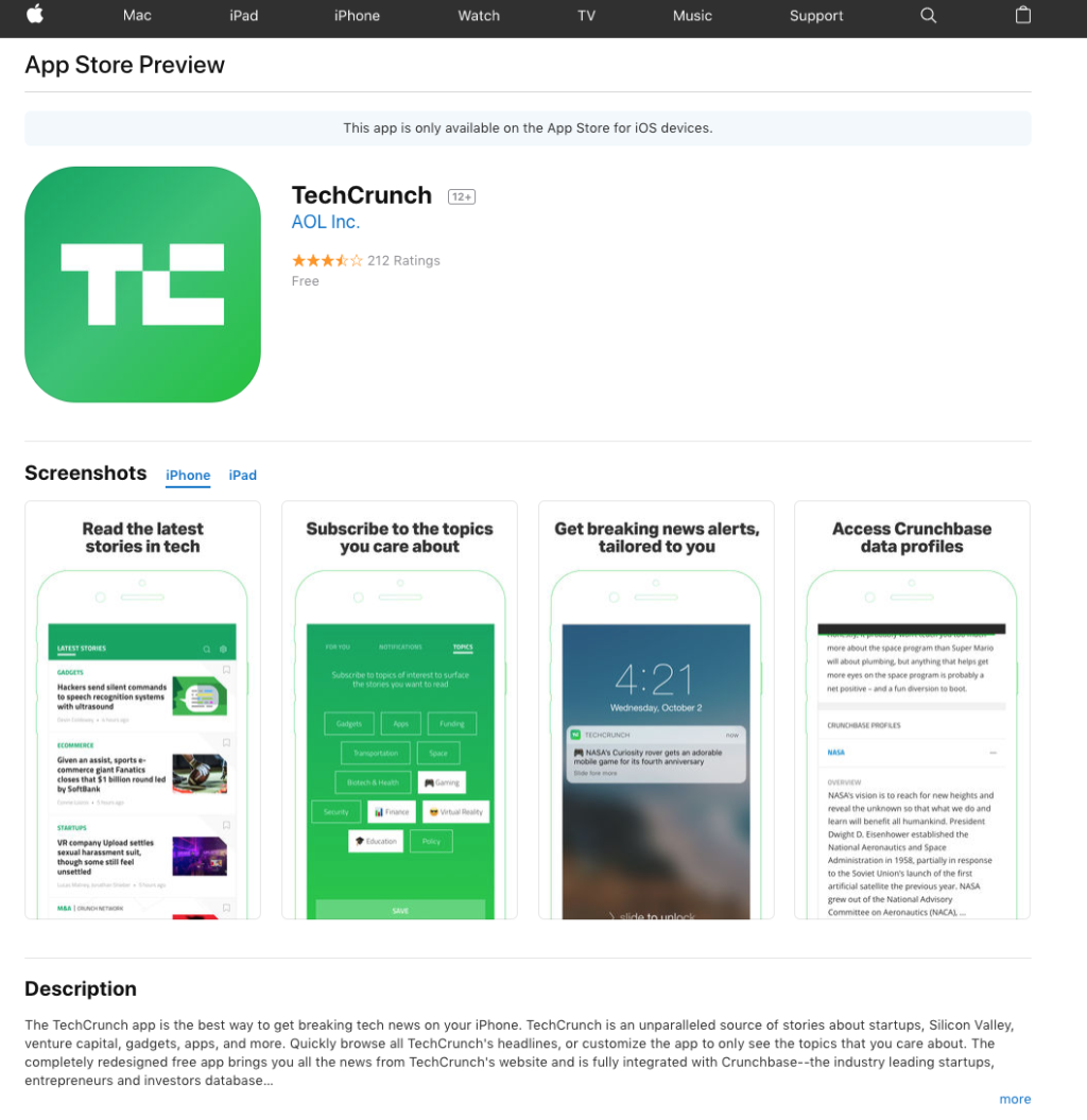Apple revamps web design for App Store Web design, App