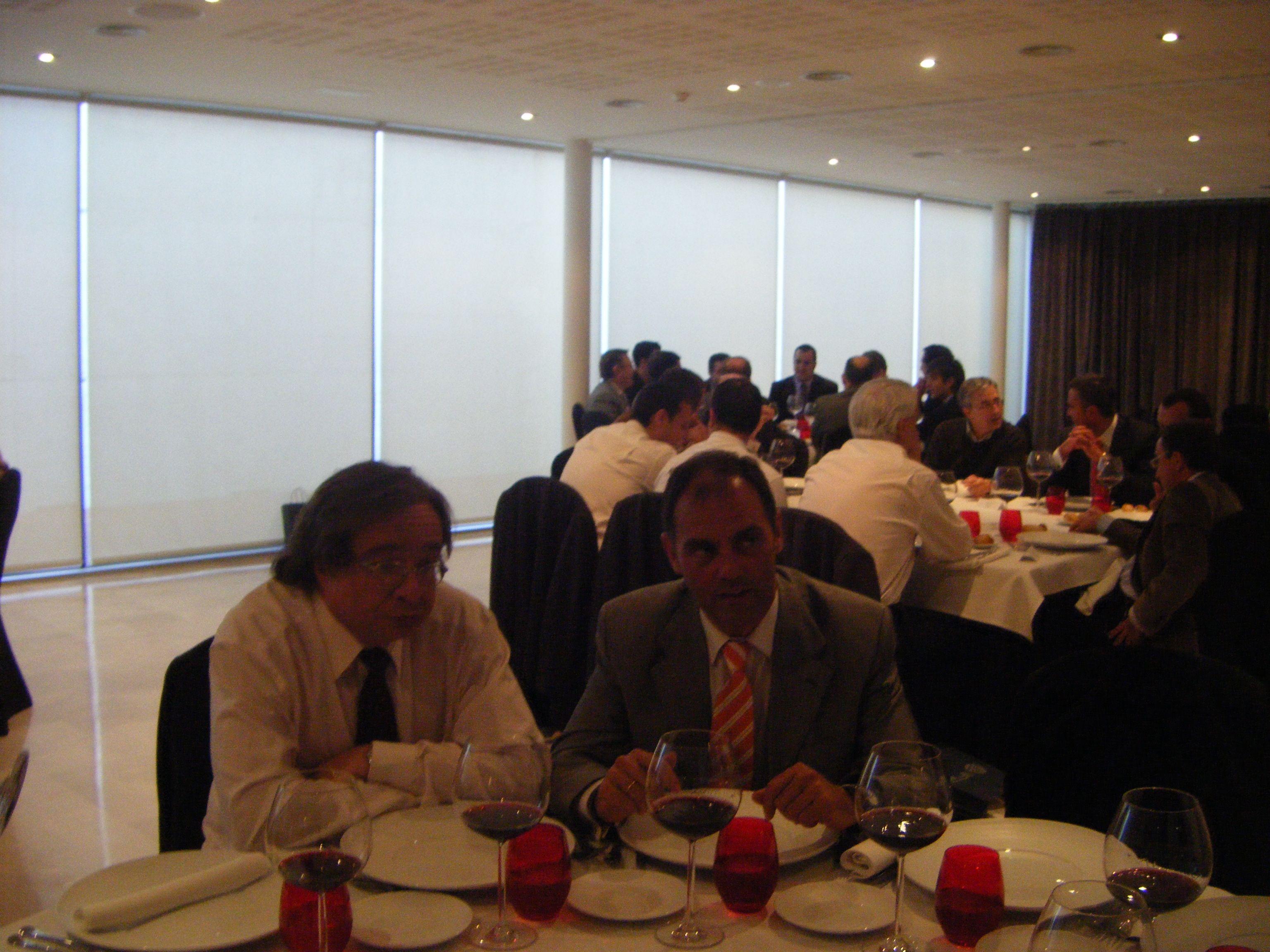 Celebración de la Jornada de clientes en el Finca Prats Hotel.