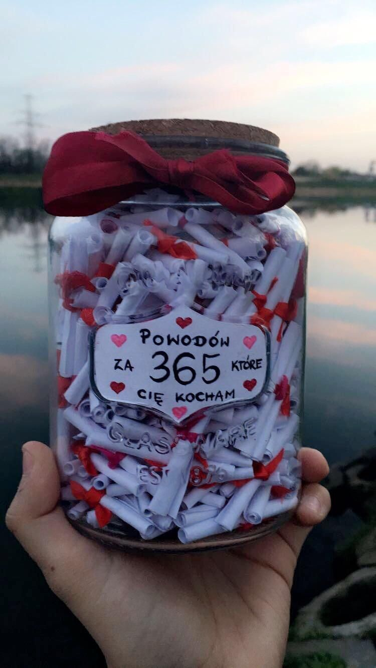 """""""365 reasons why I love you"""" - Got this from my gi"""