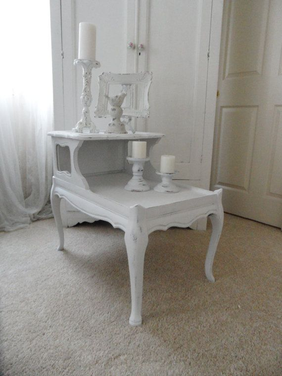 FREE SHIPPING on this Adorable White Vintage by OurShabbyShack, $125.00