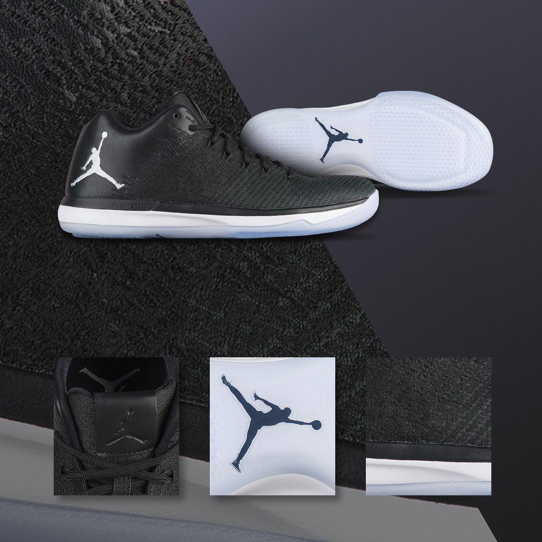 michael jordan black and white shoes