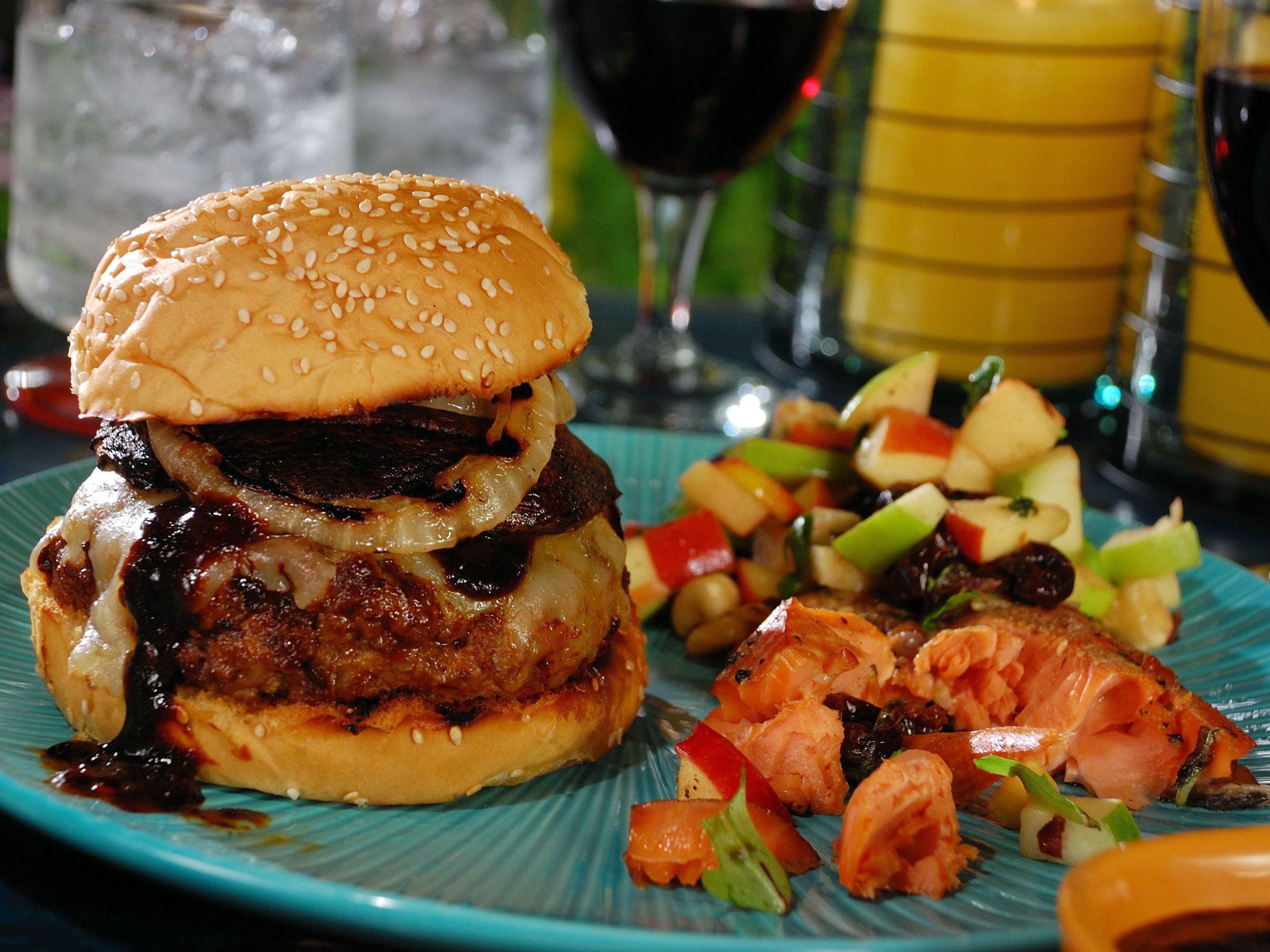 Cedar planked burgers recipe food recipes food