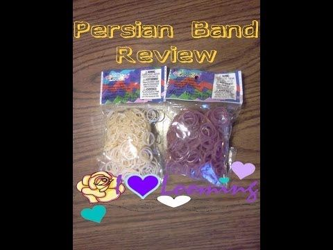 """NEW"" Rainbow Loom Persian Bands Review"