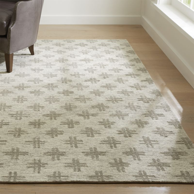 Corteal Silver Grey Rug Crate And Barrel Silver Grey Rug Grey Rugs Rugs On Carpet