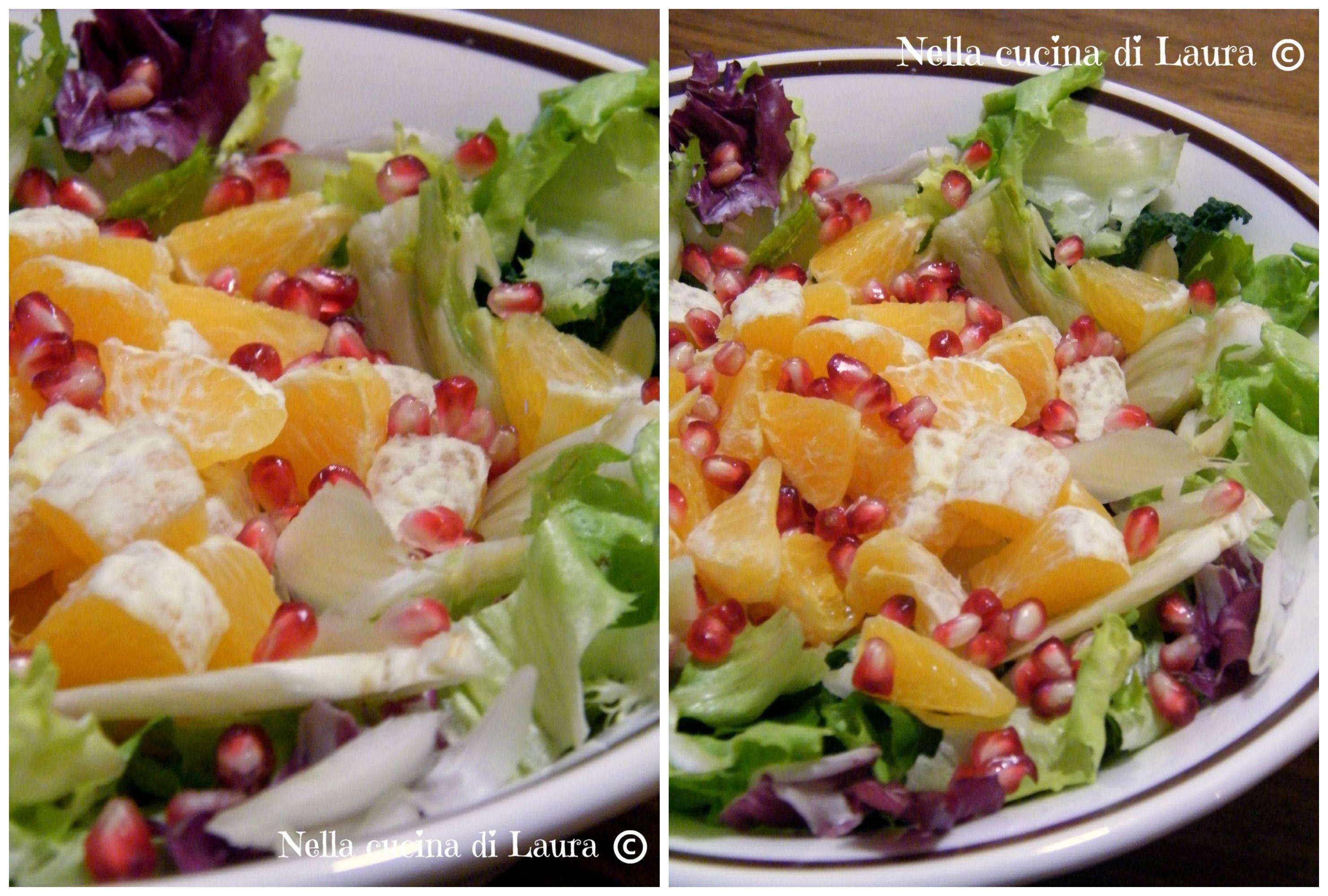INSALATA MISTA CON ARANCE E MELOGRANO | Food