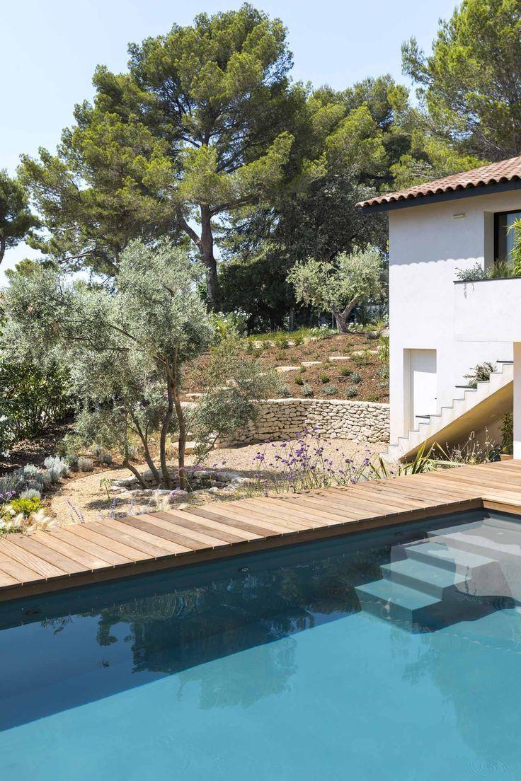 Aix-en-Provence, Création jardin privé, Architecte paysagiste, Concepteur pays