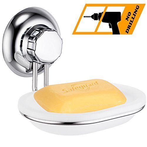 ICYMI MaxHold No-Drilling/Suction Cup Bathroom Accessory- Vaccum
