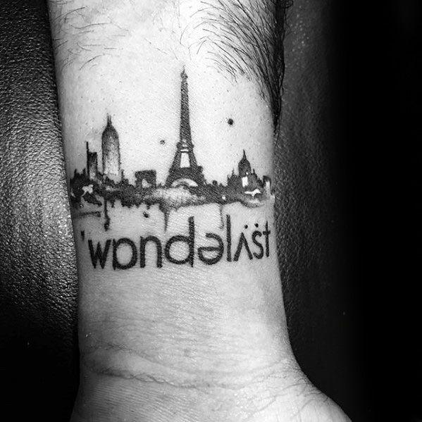 70 Wanderlust Tattoo Designs For Men Travel Inspired Ink Ideas