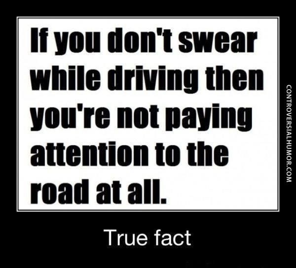 Funny Driving Quote