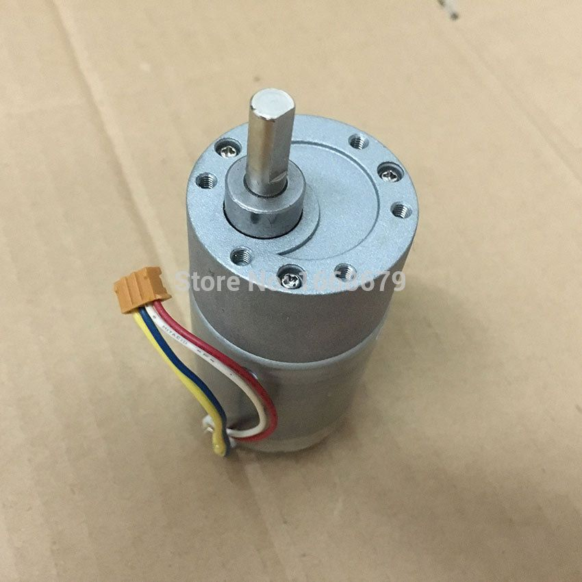 12v DC Electric Geared Motor Encoder 37MM 200RPM Torque For RC Car