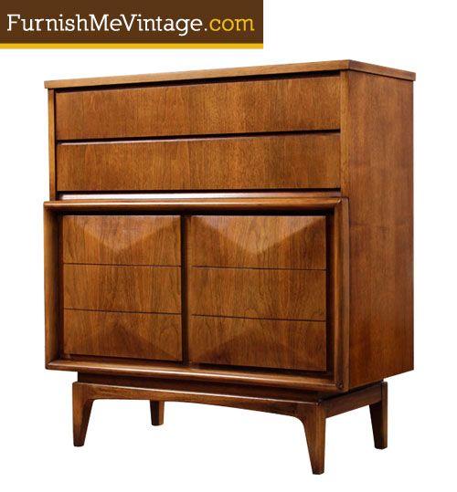 Best Mid Century Modern United Furniture Tall Dresser 400 x 300