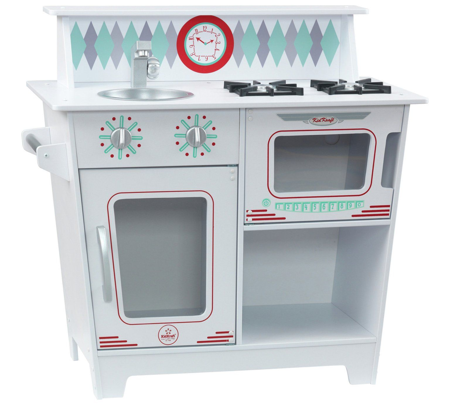 Buy KidKraft Classic Kitchenette Wooden Play Kitchen . 80GBP | To ...