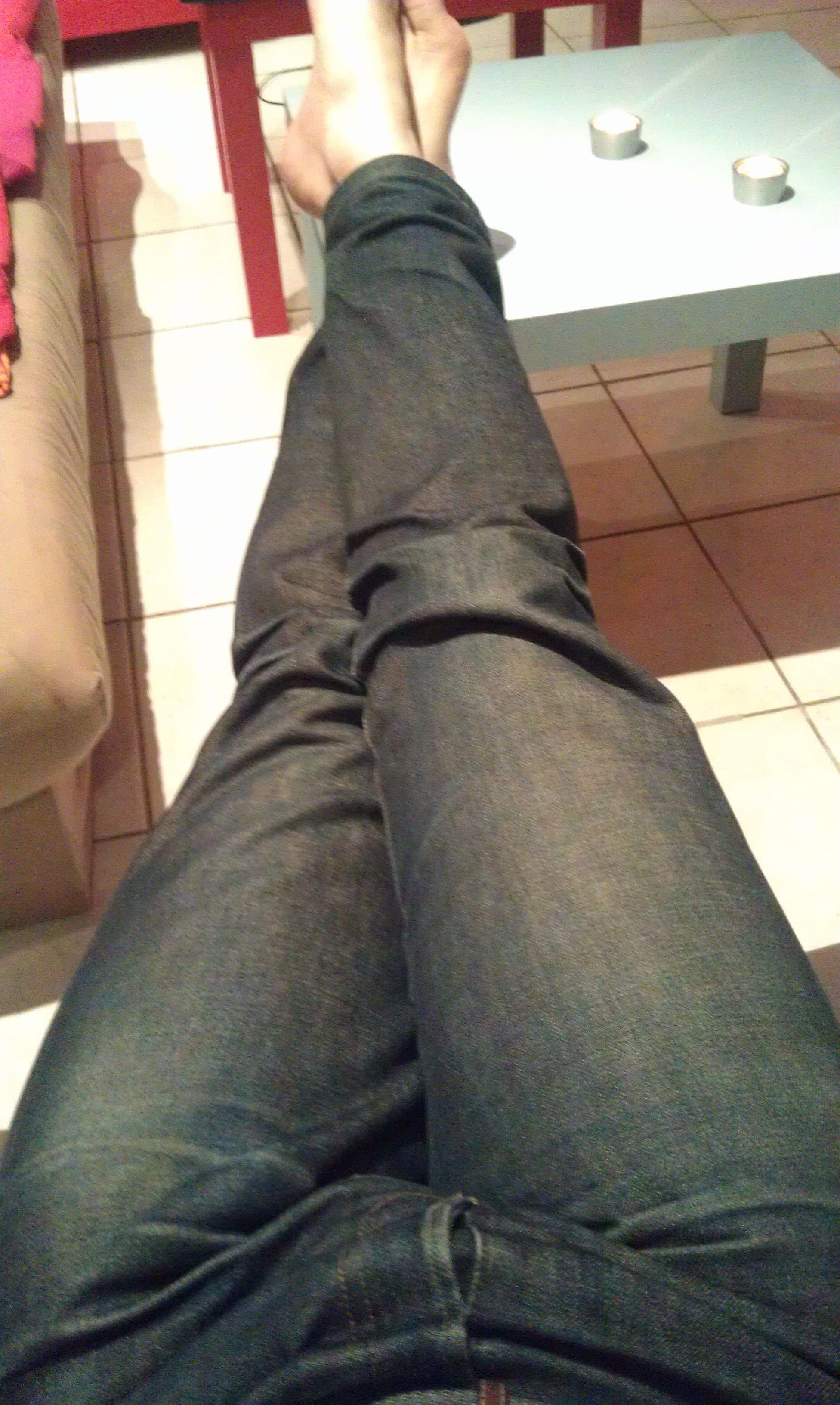 Tache de sang sur mon jean