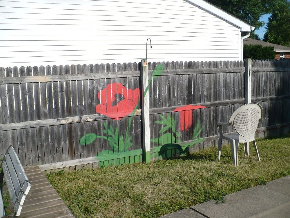 This Fence Idea Will Totally Brighten Up Your Backyard And It Takes Just 4 Hours To Do