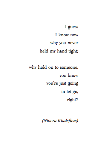 Break Up Poems 3