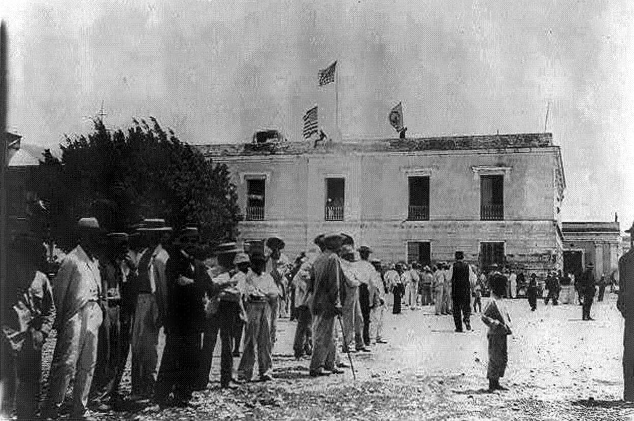 Edificio de la antigua Aduana Español en Ponce, Puerto Rico (1898) Puerto Rico Historic Building     Drawings Society