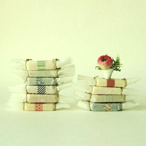 Organic, handmade soaps. Sampler of 10 for $20!