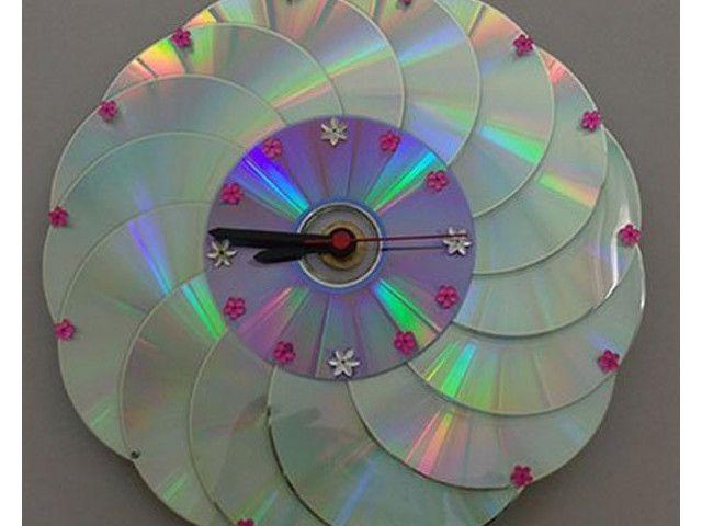 d couvrez 34 id es g niales pour recycler vos vieux cd et dvd diy pinterest vieux cd. Black Bedroom Furniture Sets. Home Design Ideas