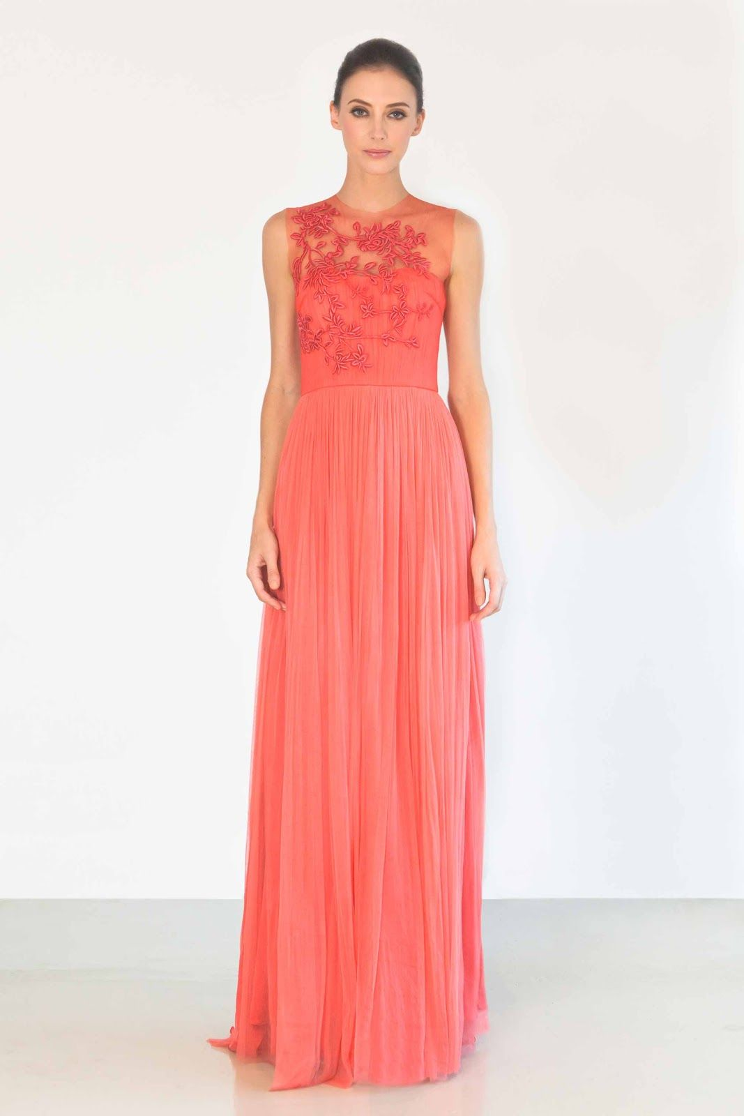 Coral Color Wedding Dresses Collection 2 Coral Wedding