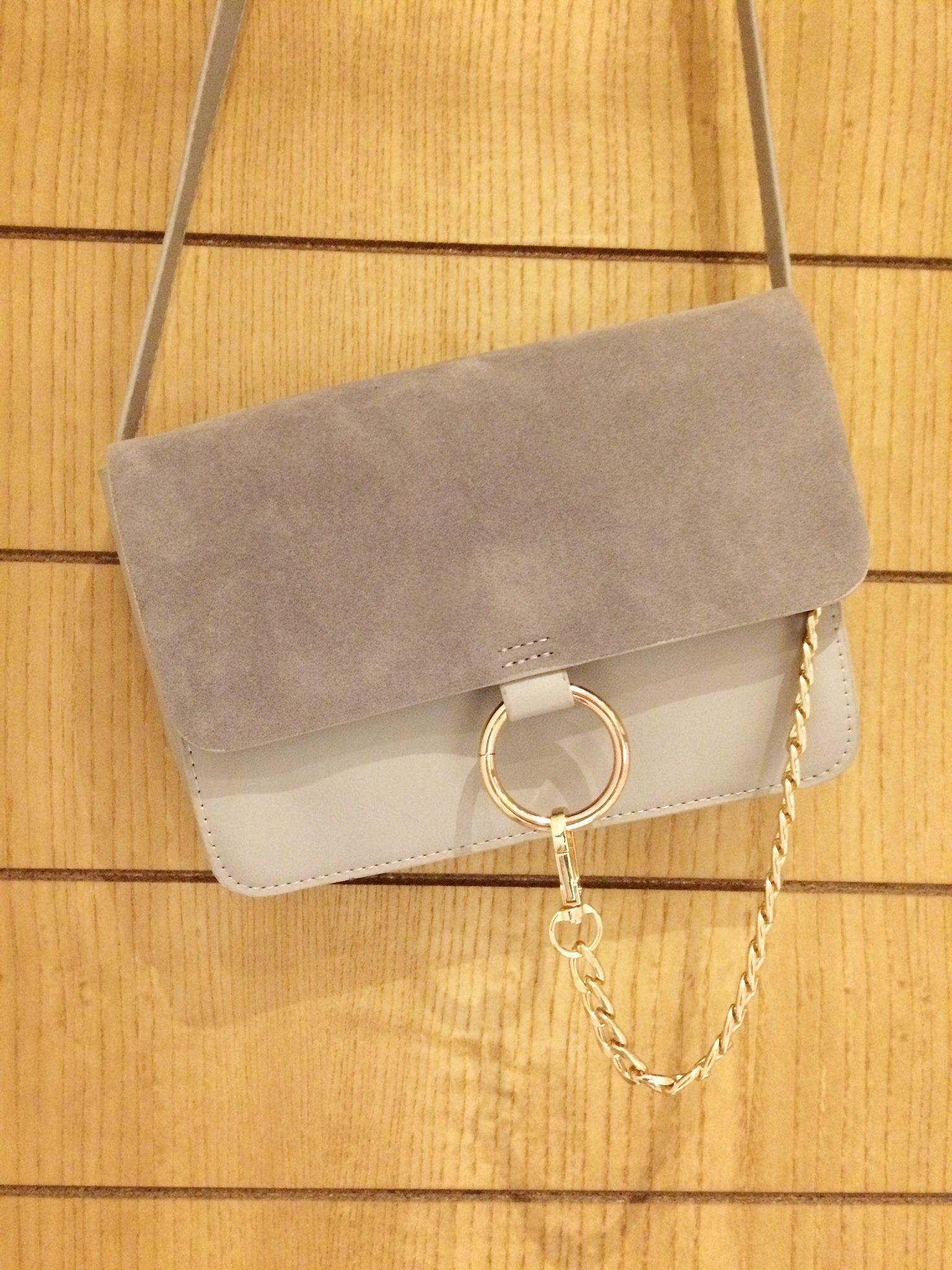 12 38 Chloe Faye Style Ring Chain Handbag Ebay Uk
