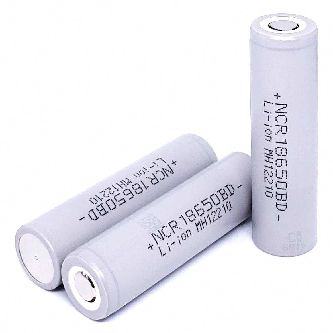 Panasonic Ncr18650bd 10a 3180mah High Drain Flat Top Rechargeable Battery Rechargeable Batteries Panasonic Battery Lights