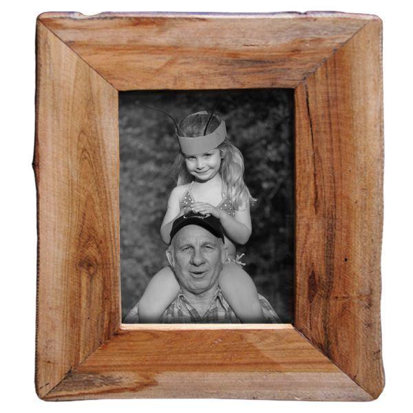 Reclaimed Natural Wood Frame 4x6 Natural Wood Frames Reclaimed Wood Picture Frames Picture Frames