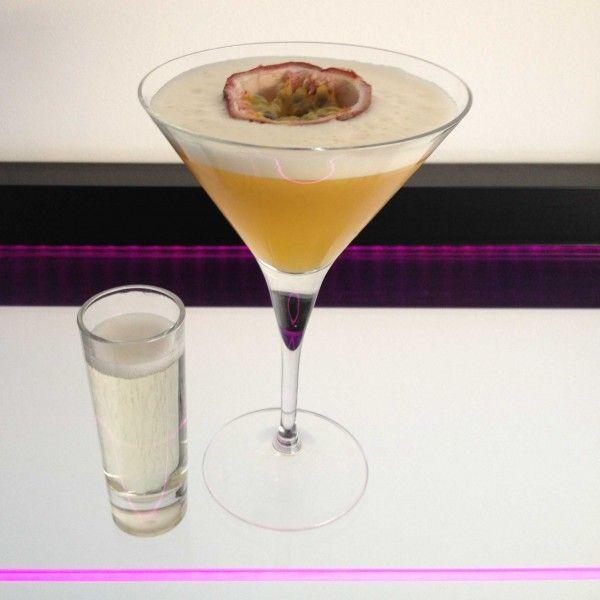 champagne glass recept