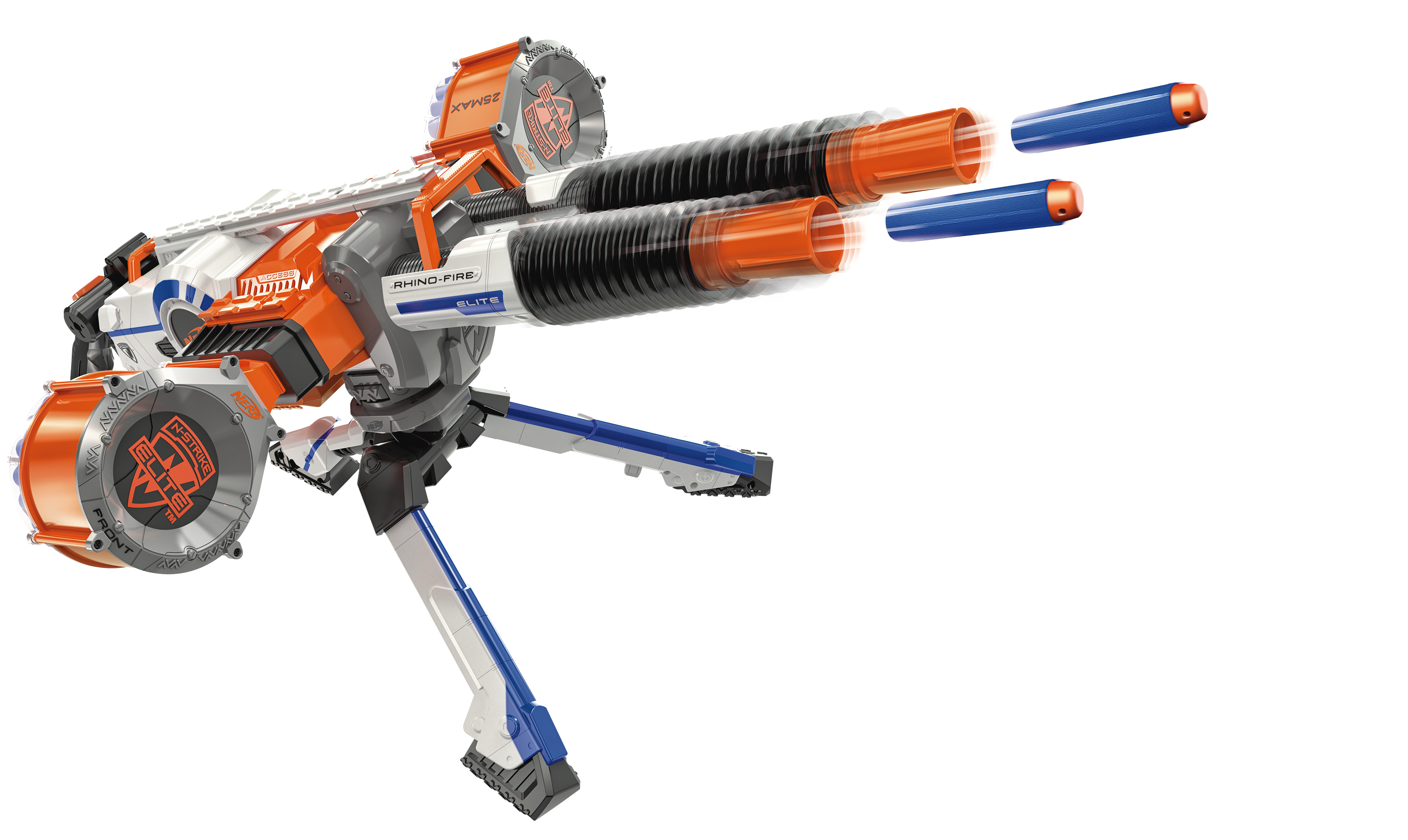 Anyway, the first two Nerf Doomlands 2169 guns are the Vagabond and the  Lawbringer, which already means they have some of the best names in Nerf  since ...