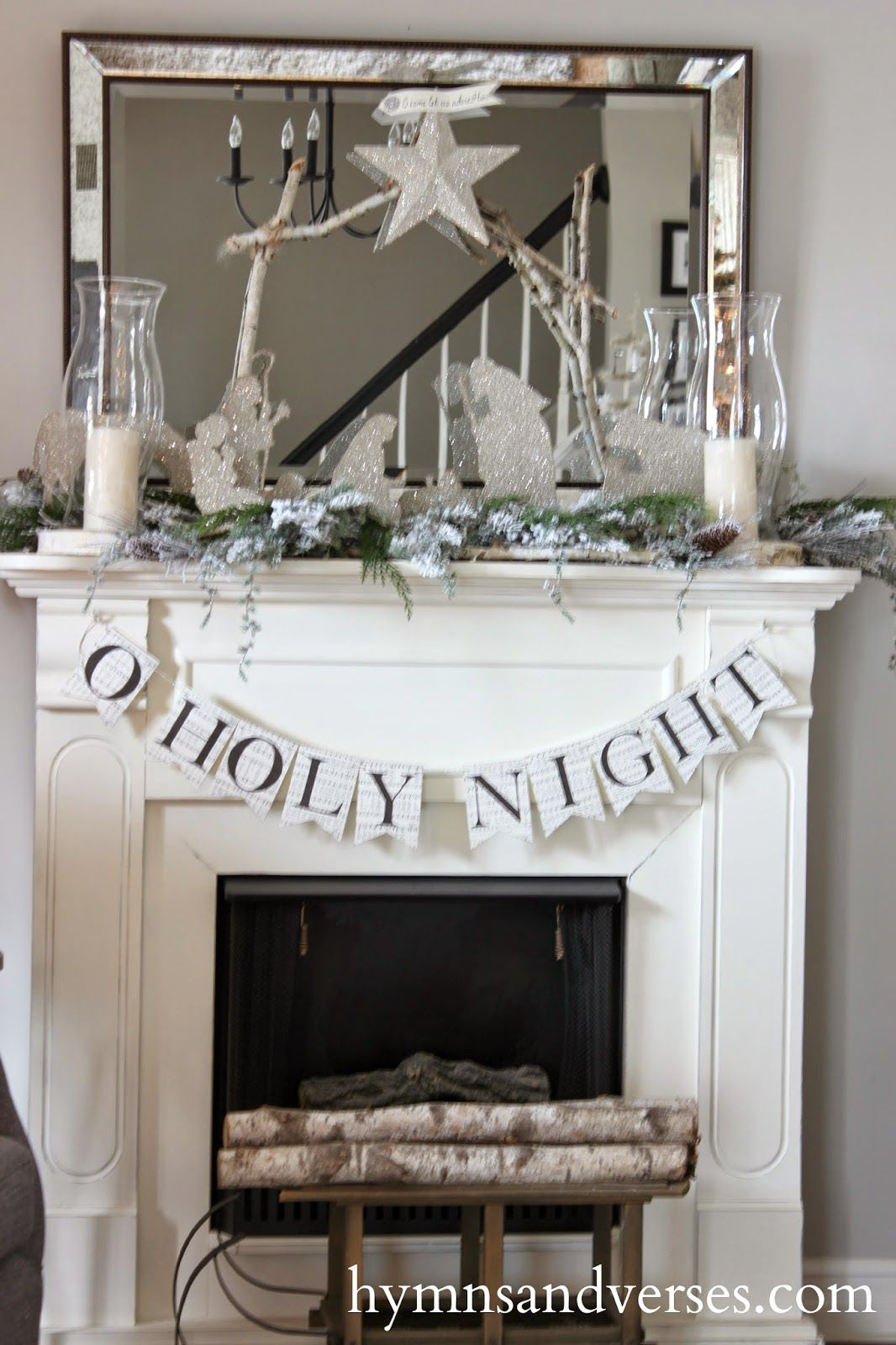 Hymns and Verses: 2014 Christmas Home Tour