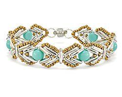Protect Me Bracelet Pattern for CzechMates