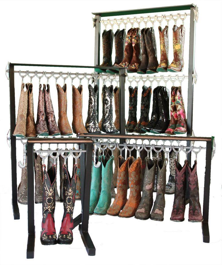 Boot Racks for Cowboy Boots Boot rack, Vintage cowboy