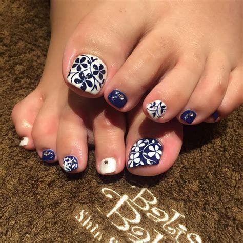 image result for flower toenail art designs  flower toe