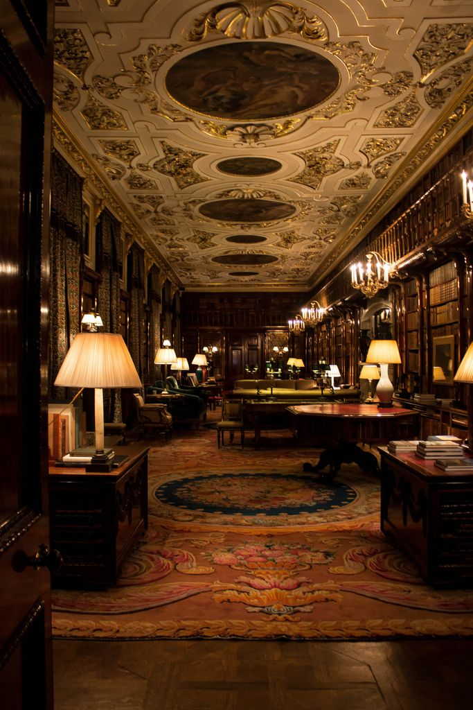 Chatsworth House Room: An Entry From Chimney Smoke In 2020