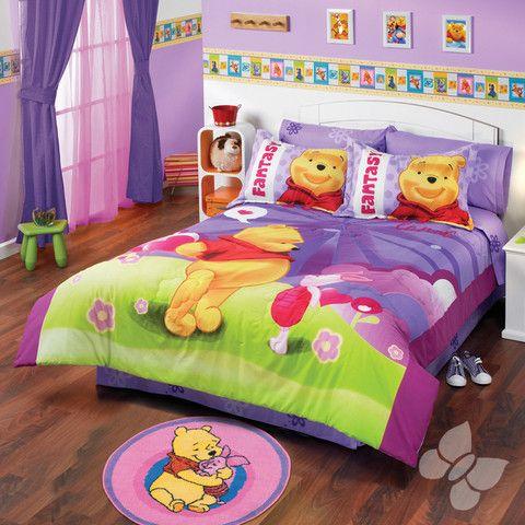 Edredon pooh fantasia producto ideal para alegrar la - Habitacion winnie the pooh ...