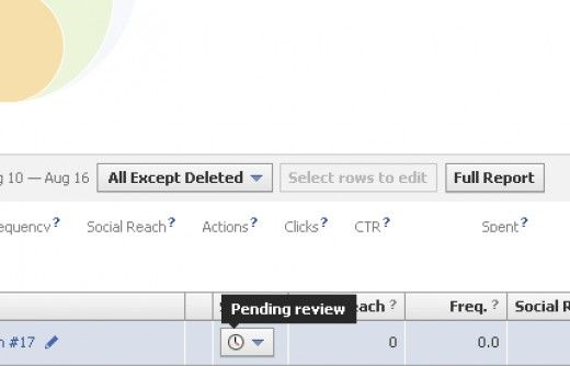 Two hours later and my latest ad is still pending review.