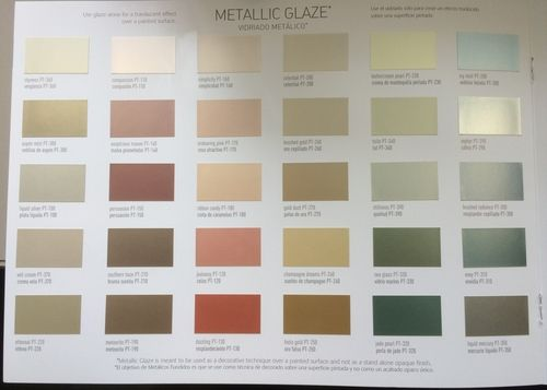 Metallic Paint Myths Facts Metallic Paint Walls Metallic Gold Wall Paint Gold Painted Walls