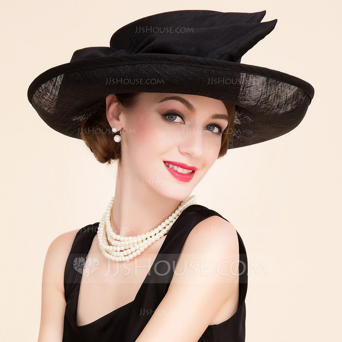 1e9c9cf0337  US  59.99  Ladies  Beautiful Cambric With Bowler Cloche Hat - JJsHouse