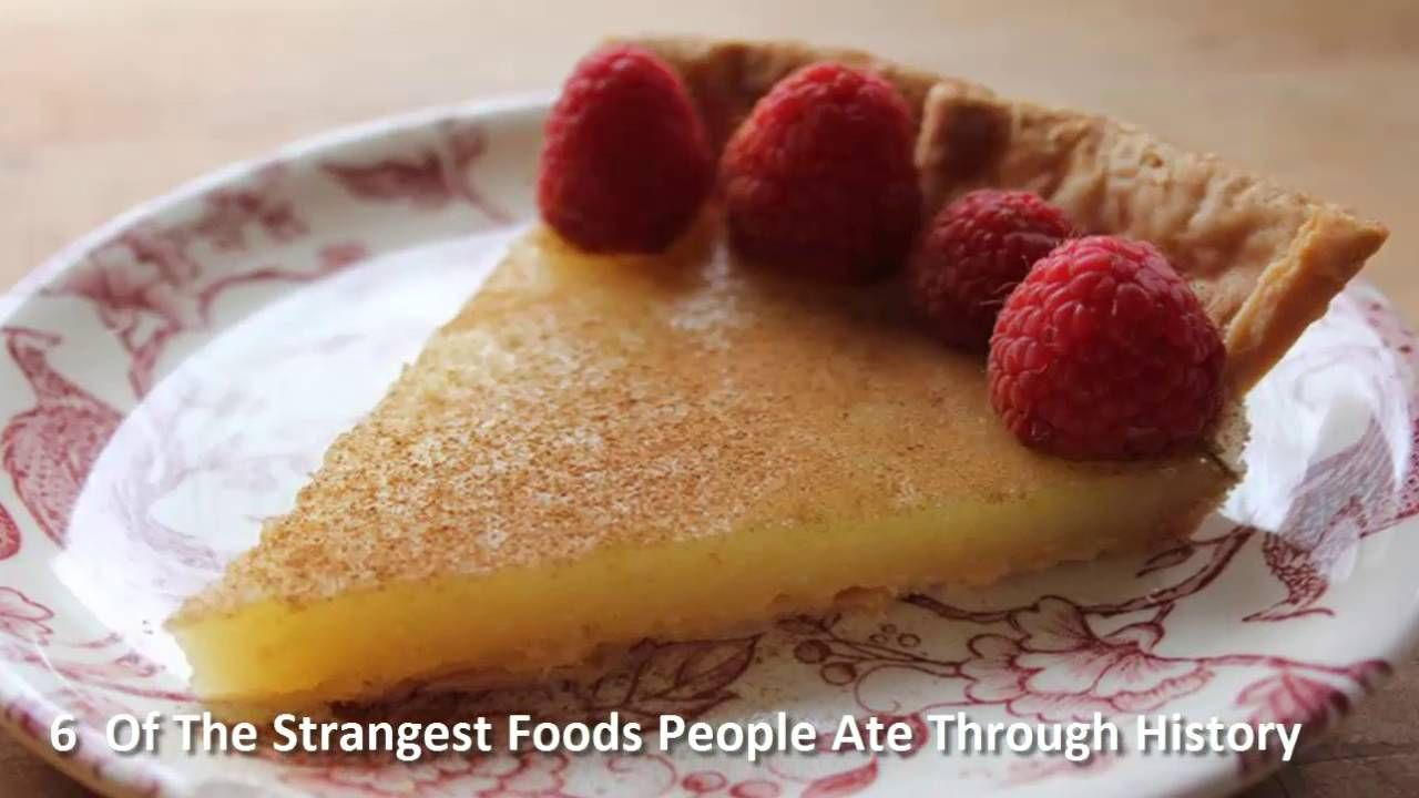 6  Of The Strangest Foods People Ate Through History