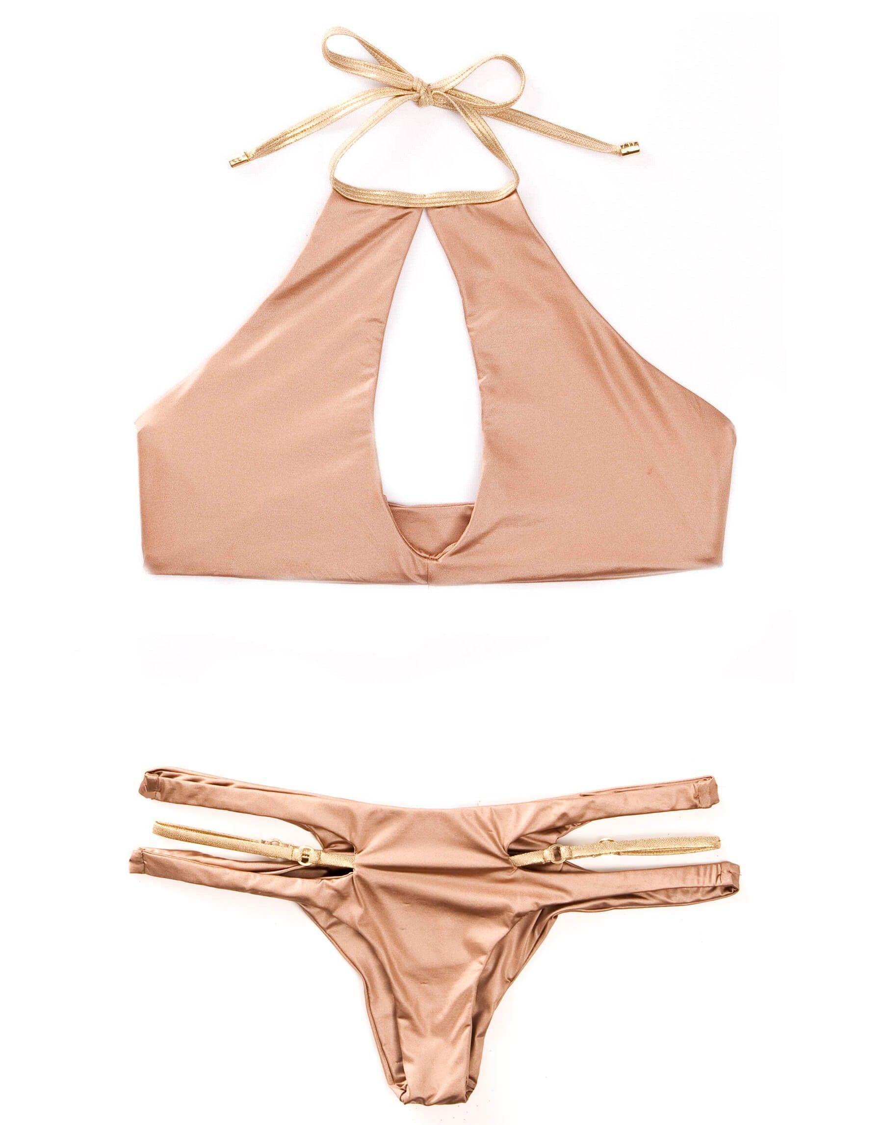 Pin by Mason Lam2 on Lena Radonjic | Keyhole bikini, High ...