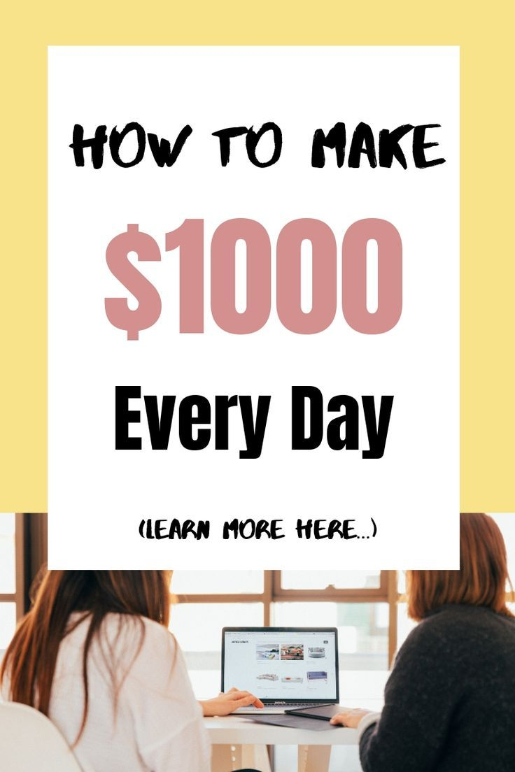 How To Make 1000 Dollars Fast (in one week or less