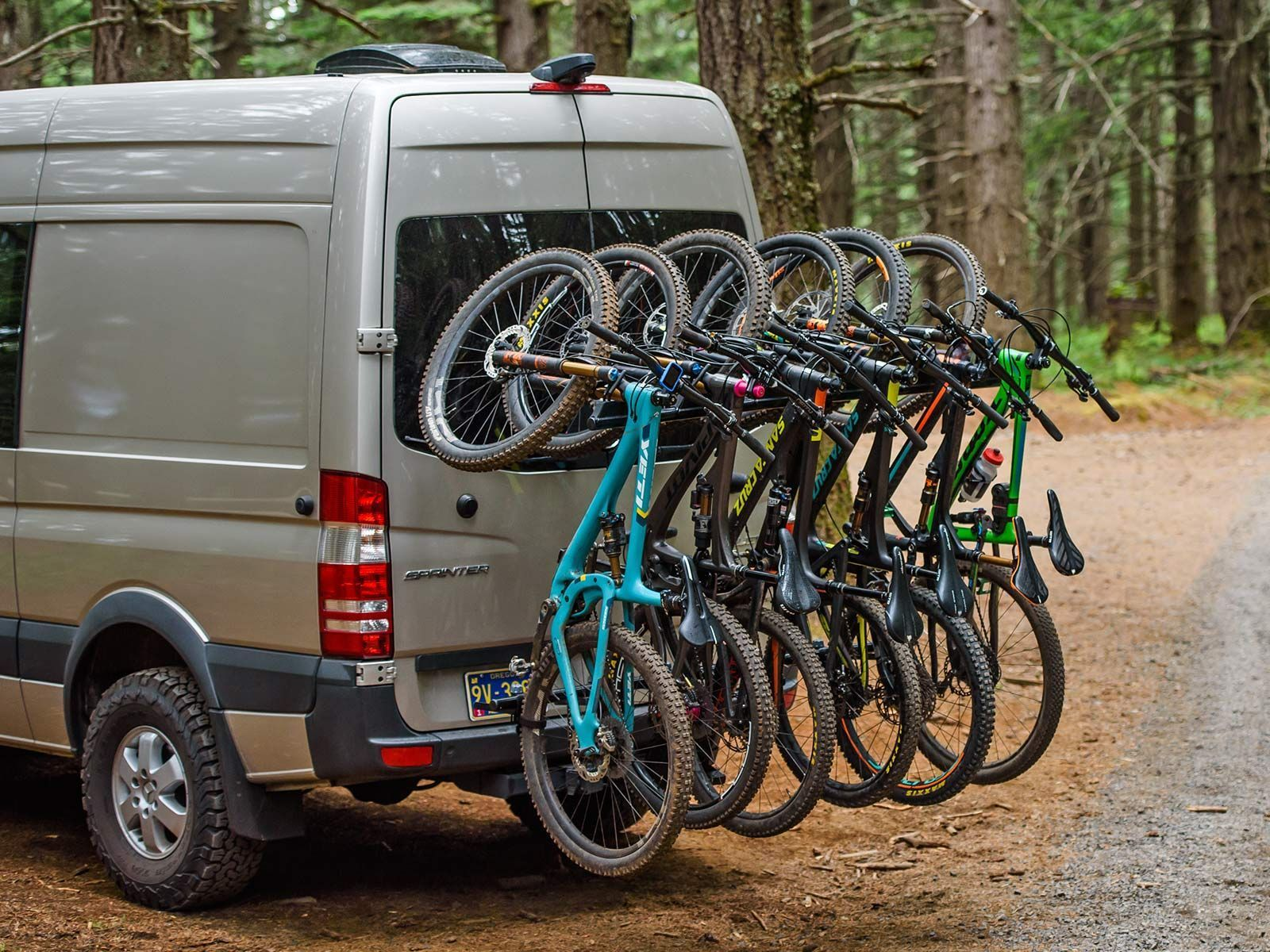 Yakima Hangover Hauls Heavy Duty Vertical Bike Racks For Trucks