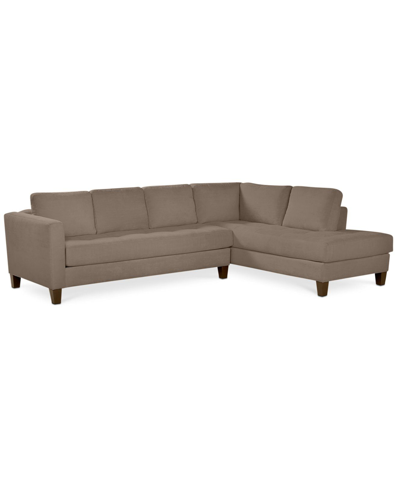 Rylee Fabric 2 Piece Sectional Sofa Created for Macy s