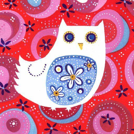 'White Owl' by Jane Heyes