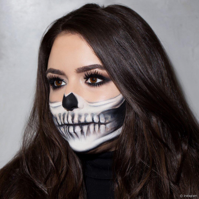 Schminken Halloween.1001 Kreative Ideen Fur Ein Einfaches Halloween Make Up