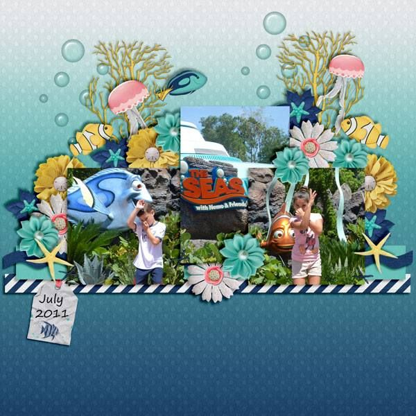 Layout using {Ocean World} Digital Scrapbook Kit by Magical Scraps Galore available at Gingerscraps and Scraps-N-Pieces http://store.gingerscraps.net/Ocean-World.html http://www.scraps-n-pieces.com/store/index.php?main_page=product_info&cPath=66_152&products_id=9667 #magicalscrapsgalore