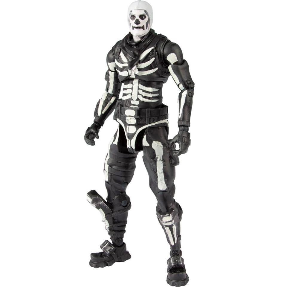 Mcfarlane Toys Fortnite Skull Trooper Figure Action Figures Collection Fortnite Action Figures