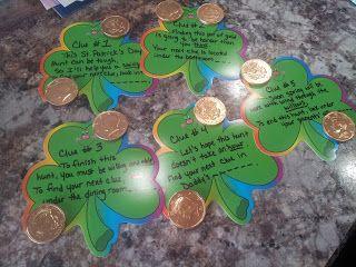 Working Mom Wonders: St. Patrick's Day Scavenger Hunt