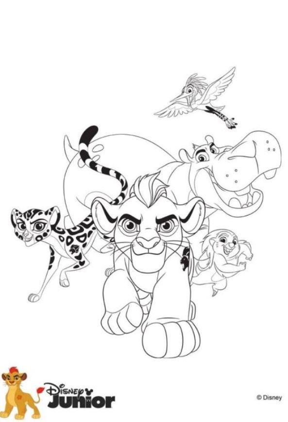Kids N Fun Elegant Ausmalbilder Garde Der Lowen Disney Coloring Pages Coloring Pages Horse Coloring Pages